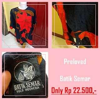 PRELOVED Batik Semar