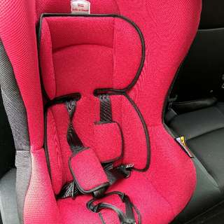 Britax Safeguard Convertible Car Seat (Crimson red)