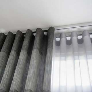 Curtain,Blinds,Rod and Tracks