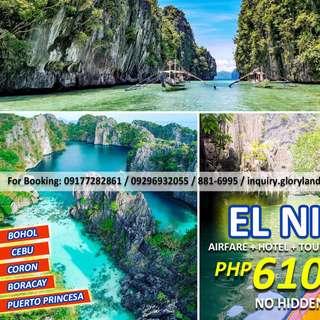 COMBO TOUR EL NIDO AND PUERTO PRINCESA PALAWAN 3D2N