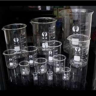 Beaker Measuring Glass Jar Blending essential Oil (craft liquid tools)