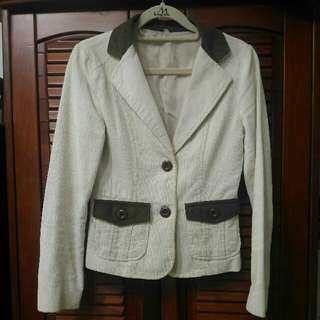 🚚 正韓貨棉絨淑女西裝小外套S#四百不著涼 #外套特賣#雙十一女裝出清