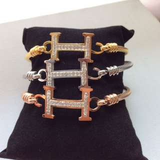 Hermes Bangles (set of 3)