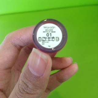 wardah lip cream no 1