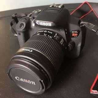 Canon T5i DSLR Camera