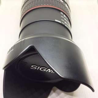 WTS Sigma Telephoto Lens (Nikon mount)
