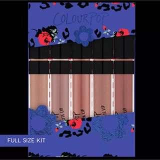 Colour pop For Fox Sake Lip Collections