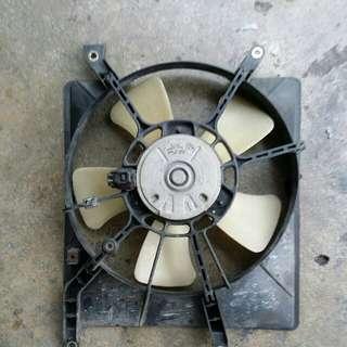 Kipas Motor Radiator L9 Turbo Pnp Kelisa Kenari.aircond Lbh Sejuk