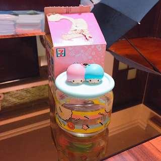 7-11 樽樽滿joy 玻璃樽 line friends x Sanrio characters