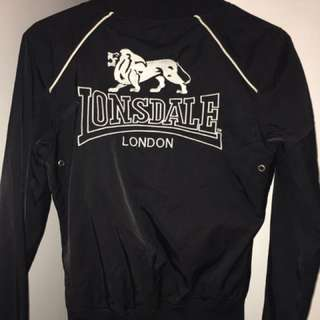 Lonsdale Black Jacket