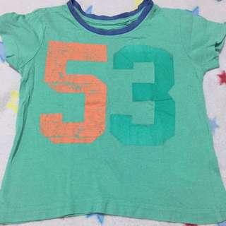 CottonOn Kids green tshirt