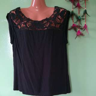 Honigman Black Blouse