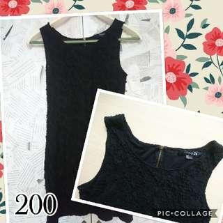 REPRICED :Forever 21 Black Dress
