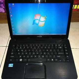 Laptop TOSHIBA C840 core i3 Ivybridge Gaming