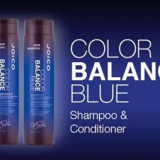 Joico Blue Shampoo/ Blue Conditioner
