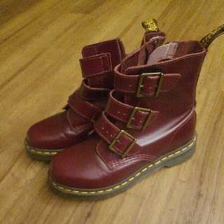 Original Dr Martens Wine Red Boots