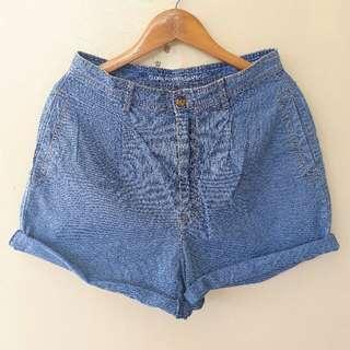 HW Baggy Denim Shorts
