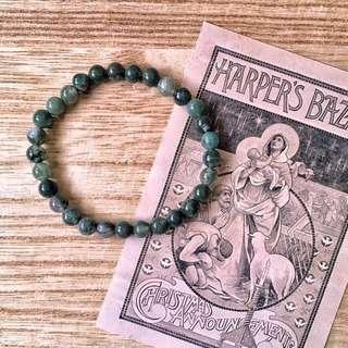 🇮🇳Agate Stone Bracelet 水草瑪瑙手鏈