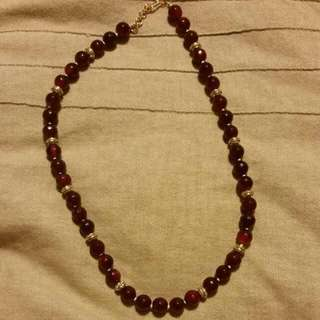 Indian Ruby Necklace heavy