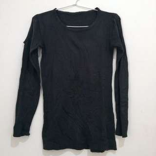 Sweater Rajut Dark Grey