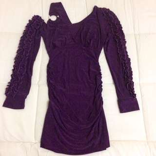 SALE!!! Elegant Violet Dress