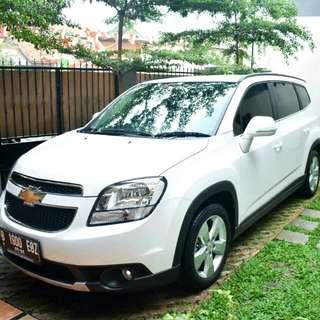 Chevrolet Orlando Pemakaian Baru 1 Bulan Berjalan