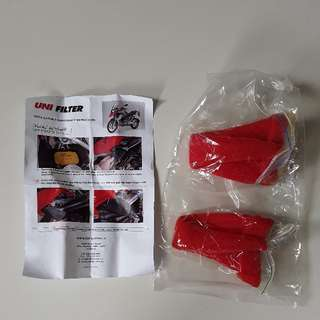 UNIFILTER Snorkel Pre-Filters for BMW GS LC 2014 onwards