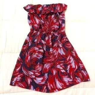 SALE!!! Printed Tube Dress