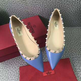 [ Valentino ] Shoes Rivet Pointed