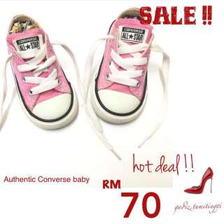 Authentic Converse Baby