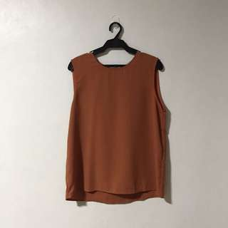 Celine Zipper Top