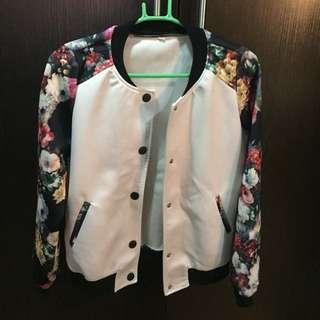 REPRICED! Flora Bomber Jacket