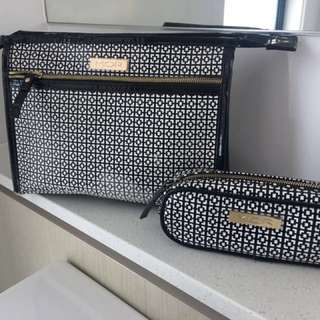 MOR modern apothecary Cosmetic Bags • Black/White • Makeup Cases