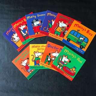 💥NEW - Set of 10 - Maisy Story Book Set -  Children Story Books