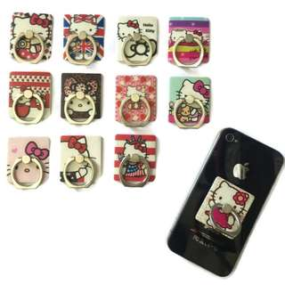 1pc Hello Kitty Ring Stent Stand Mount Holder Assorted