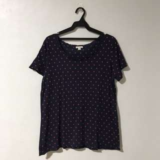 Gap Polka Dot Top