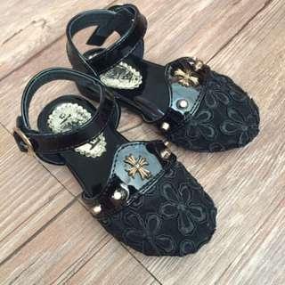寶寶 韓國蕾絲透氣娃娃鞋