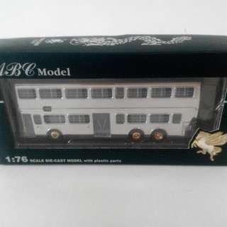 限量版 九巴雙層模型巴士 KMB 龍年 千禧年紀念版 ABC Model 1:76 Scale 銀白色