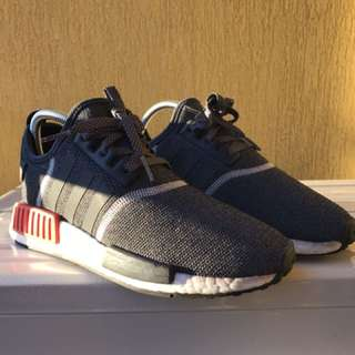 NMD R1 GREY/RED