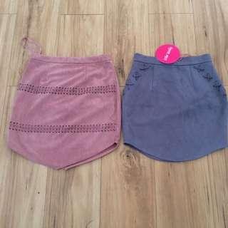 2 x women's skirt