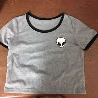 BRAND NEW ALIEN TOP