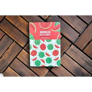 WATERMELON DAILY PLANNER