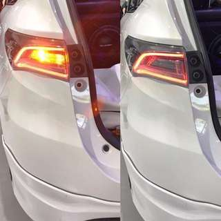"""Your safety is our concern!  Bellof signal LEDS installed on a sporty harrier  #bellof #harrier#sgharrier #datsauto  For booking please call/sms/whatsapp us at 8511 3057  """"Quality at its best always served by the best"""""""