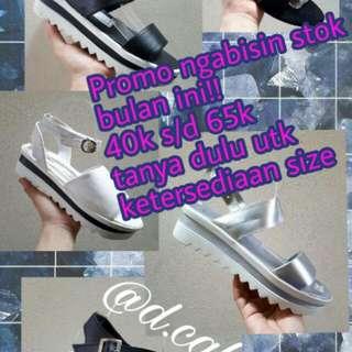 Platform / Slip On / Wedges / Heels / Strap Heels / Sepatu Wanita