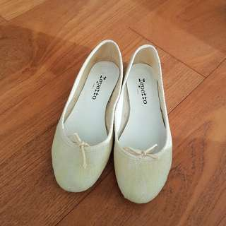 Repetto Flats In Yellow