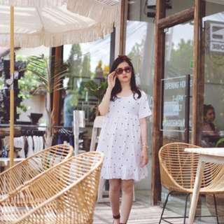 Zara polkadot summer dress
