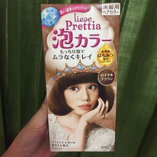 Liese Prettia Hair Color Coloring Shampoo Easy to use