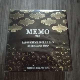 CYRANO~Memo花語天堂香紛潤膚皂150g,百貨訂價950