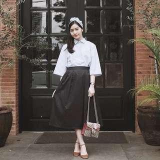 Vintage set (top&skirt)