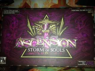 Ascension: Storm of Souls deckbuilding card game / board game